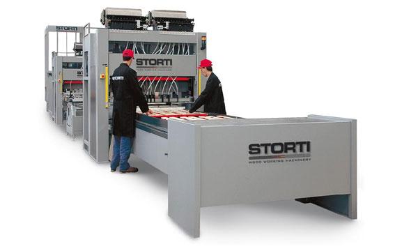 Линия производства поддонов с ковром подачи Storti GSI 170/270 TA