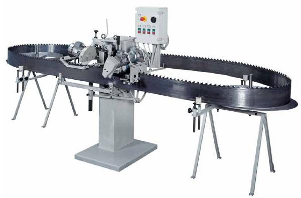 Автоматический станок для заточки ленточных пил BA