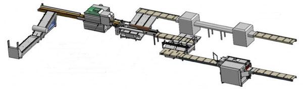 Автоматическая линия для производства заготовок для европоддонов