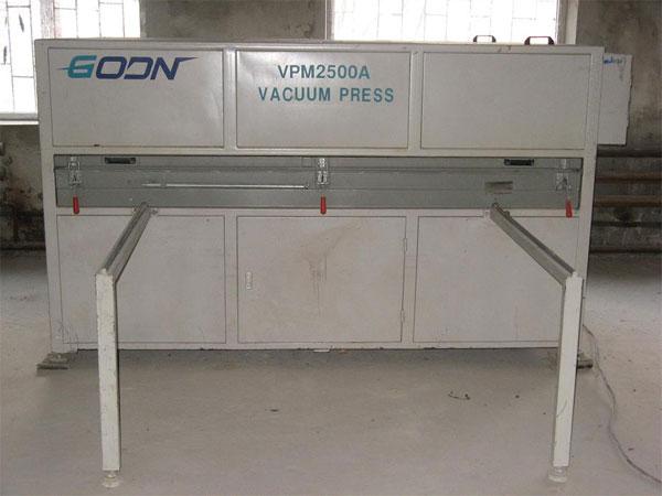 Продам пресс вакуумный б/у VPM 2500A    2004