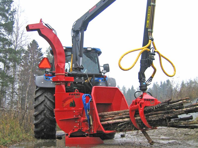 Рубительная машина FARMI Forester CH260HF