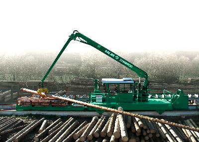 Техника для транспортировки и сортировки круглого леса Baljer & Zembrod