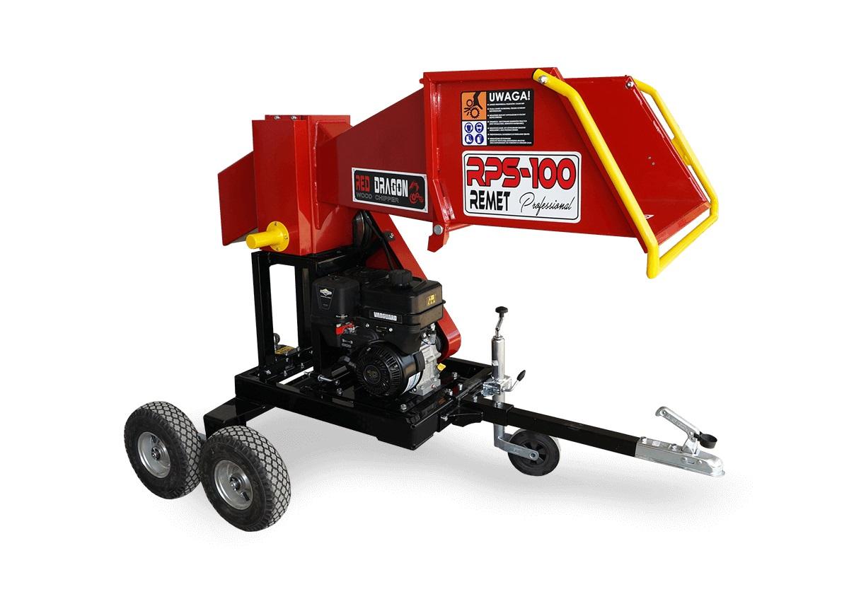 Барабанная рубительная машина с приводом от дизельного двигателя MODEL RPS-100