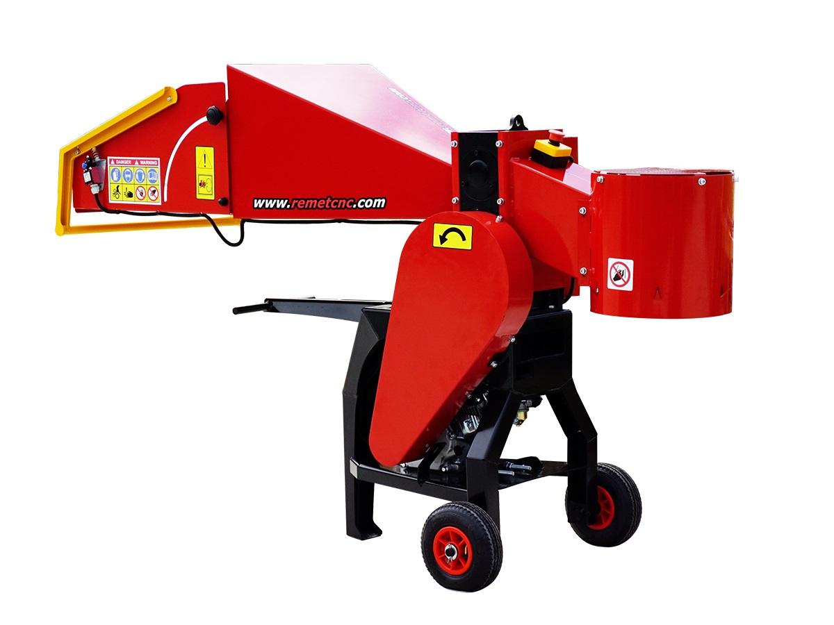 Барабанная рубительная машина с приводом от дизельного двигателя MODEL RS-80
