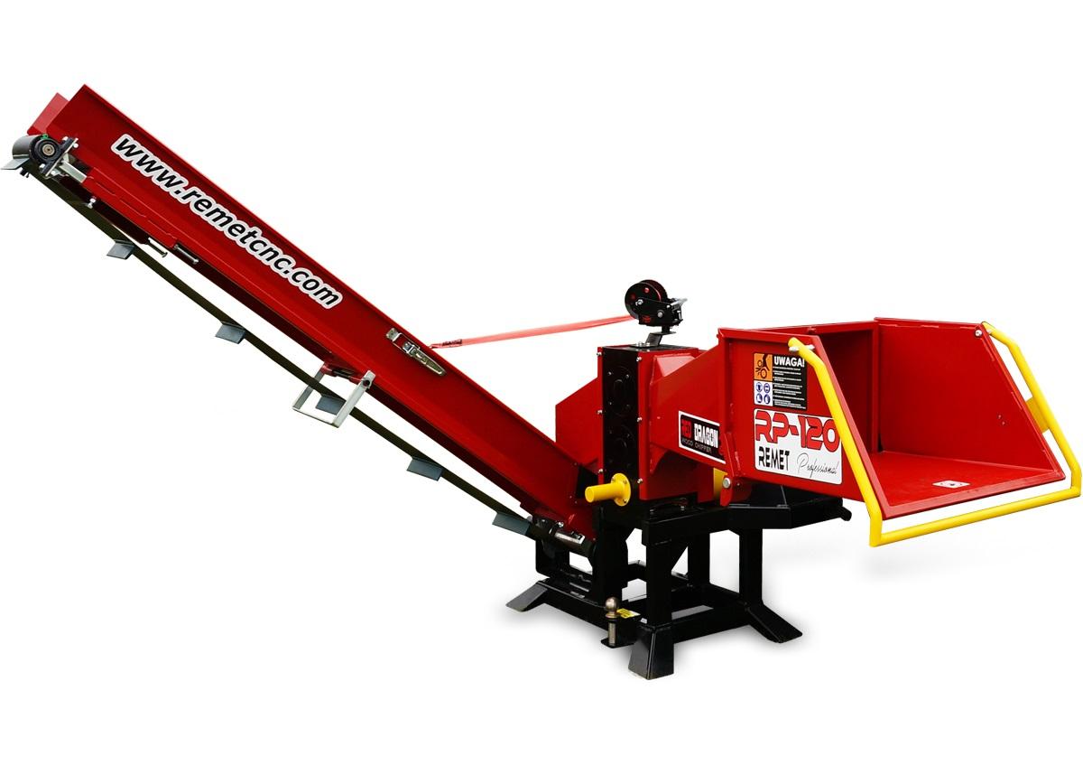 Барабанная рубительная машина для тракторов ИЗМЕЛЬЧИТЕЛЬ WOM MODEL RP-120