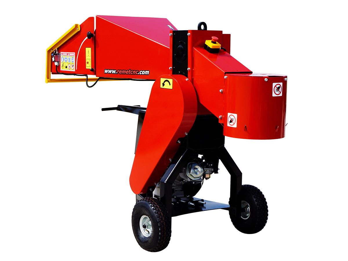 Барабанная рубительная машина с приводом от дизельного двигателя MODEL RS-100