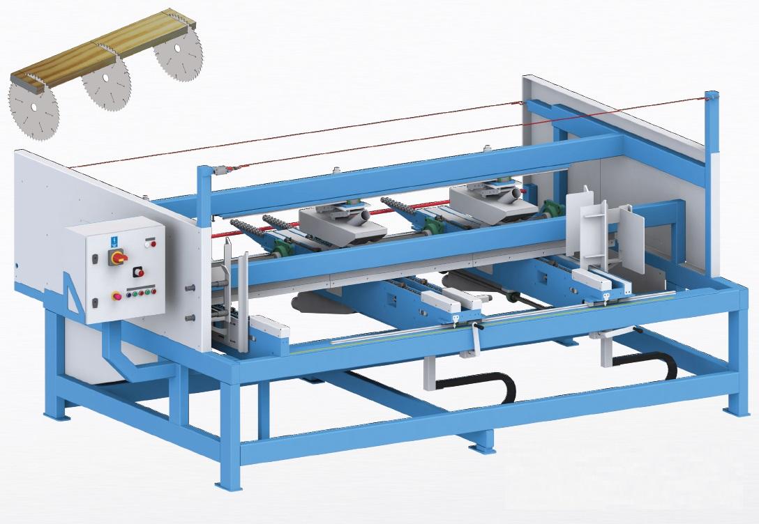 Торцовочные станки для производства заготовок для европоддонов
